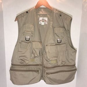 Bazooby Safari Vest With Multiple Pockets